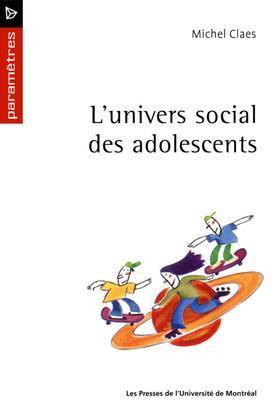 L'univers social des adolescents