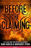 Before the Claiming