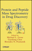 Protein and Peptide Mass Spectrometry in Drug Discovery