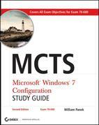 McTs Microsoft Windows 7 Configuration Study Guide: Exam 70-680