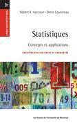 Statistiques. Concepts et applications (2e édition)