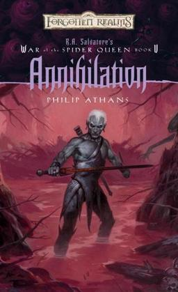 Annihilation: R.A. Salvatore Presents The War of the Spider Queen, Book V