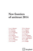 New frontiers of antitrust 2014