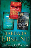 Barbara Erskine 3-Book Collection: Time's Legacy, River of Destiny, The Darkest Hour