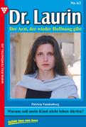 Dr. Laurin 63 - Arztroman