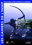 Cahiers de l'INSEP 46 – Histoire(s) de la performance du sportif de haut niveau