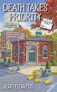 Death Takes Priority: A Postmistress Mystery