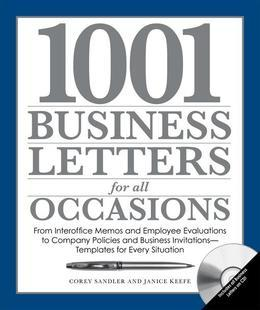 1.001 Business Letters for All Occasions