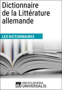 Dictionnaire de la Littérature allemande