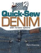 Quick Sew Denim with No Sew Options