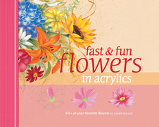 Fast &amp; Fun Flowers in Acrylics