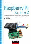 Raspberry Pi A+, B+ et 2: Prise en main et premières réalisations