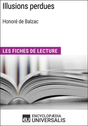 Illusions perdues d'Honoré de Balzac