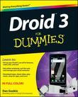 Droid 3 For Dummies