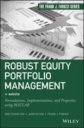 Robust Equity Portfolio Management + Website