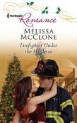 Firefighter Under the Mistletoe