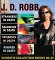 J.D. Robb IN Death COLLECTION books 26-29