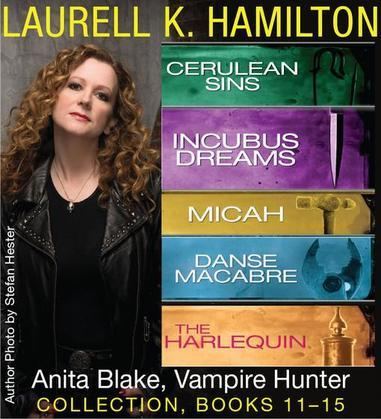 Laurell K. Hamilton's Anita Blake, Vampire Hunter collection 11-15