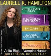 Laurell K. Hamilton's Anita Blake, Vampire Hunter collection 11-15