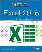 Teach Yourself VISUALLY Excel 2016