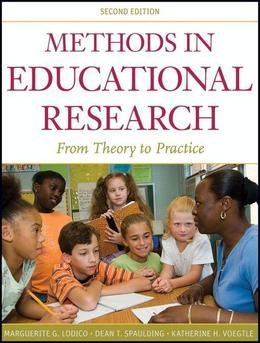 Methods in Educational Research: From Theory to Practice