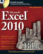 Excel 2010 Bible