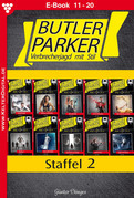 Butler Parker Staffel 2 - Kriminalroman