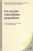 Les savoirs naturalistes populaires