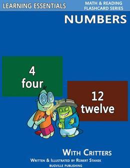 Number Flash Cards: Numbers and Critters: Learning Essentials Math & Reading Flashcard Series