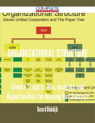 Organizational Structure - Simple Steps to Win, Insights and Opportunities for Maxing Out Success