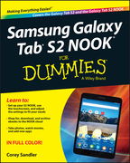 Samsung Galaxy Tab S2 NOOK For Dummies