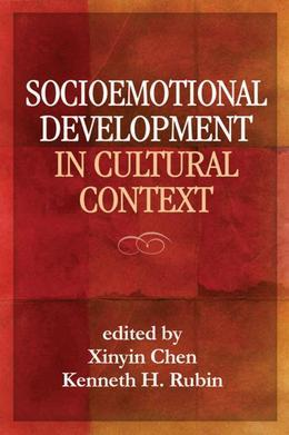Socioemotional Development in Cultural Context