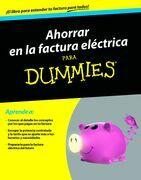 Ahorrar en la factura eléctrica para Dummnies
