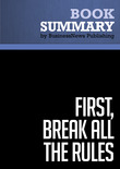 Summary: First, Break All the Rules - Marcus Buckingham &amp; Curt Coffman