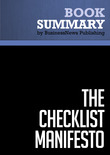 Summary: The Checklist Manifesto - Atul Gawande