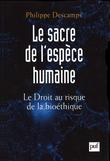 Le sacre de l'espèce humaine