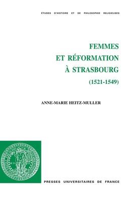 Femmes et Réformation à Strasbourg (1521-1549)
