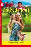 Toni der Hüttenwirt 80 - Heimatroman