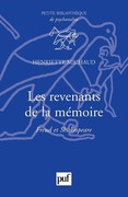 Les revenants de la mémoire. Freud et Shakespeare