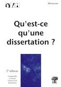 Qu'est-ce qu'une dissertation ?