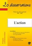 L'action - Thème de culture générale 2007-2008