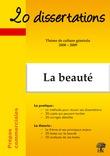 20 dissertations avec analyses et commentaires sur le thème La beauté