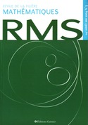 Revue de la filière mathématiques RMS 114-3