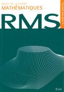 Revue de la filière mathématiques RMS 115-3