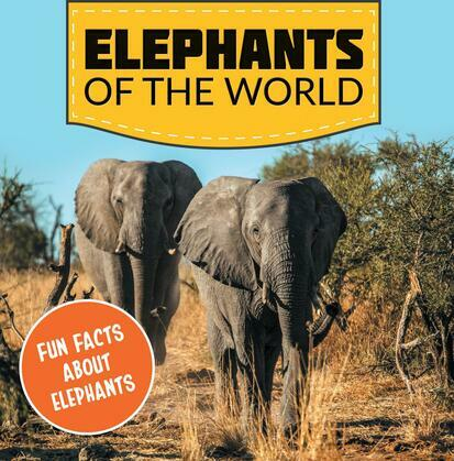 Elephants of the World: Fun Facts About Elephants: Elephant Books for Kids - Big Mammals