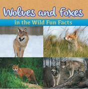 Wolves and Foxes in the Wild Fun Facts: Animal Encyclopedia for Kids - Wildlife