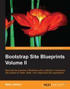 Bootstrap Site Blueprints Volume II