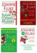 Joanne Fluke Christmas Bundle: Sugar Cookie Murder, Candy Cane Murder, Plum Pudding Murder, &amp; Gingerbread Cookie Murder