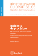 Incidents de procédure
