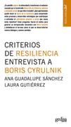Criterios de resiliencia. Entrevista a Boris Cyrulnik